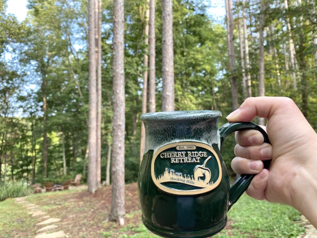 Coffee at Cherry Ridge Retreat