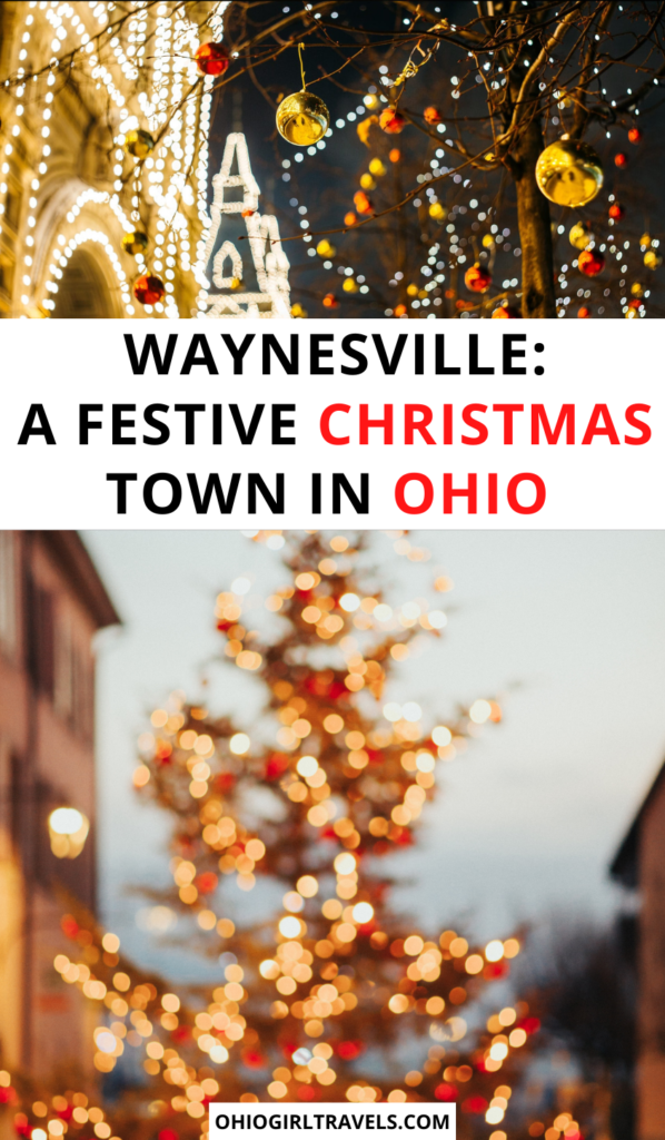 Christmas in Waynesville, Ohio