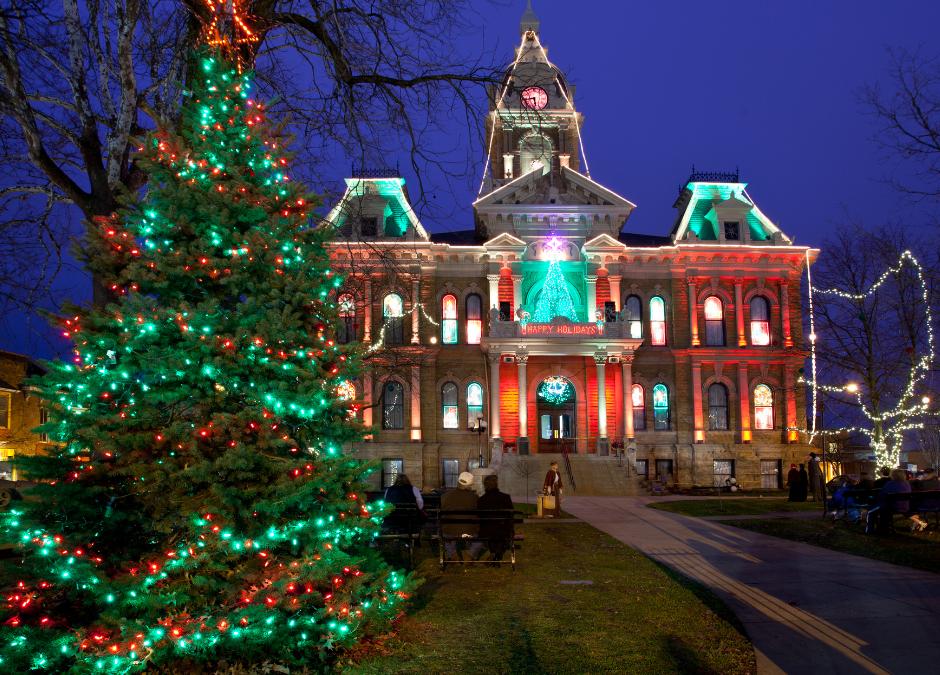 Christmas in Cambridge Ohio