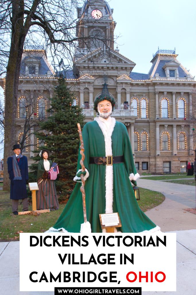 Dickens Village in Cambridge Ohio