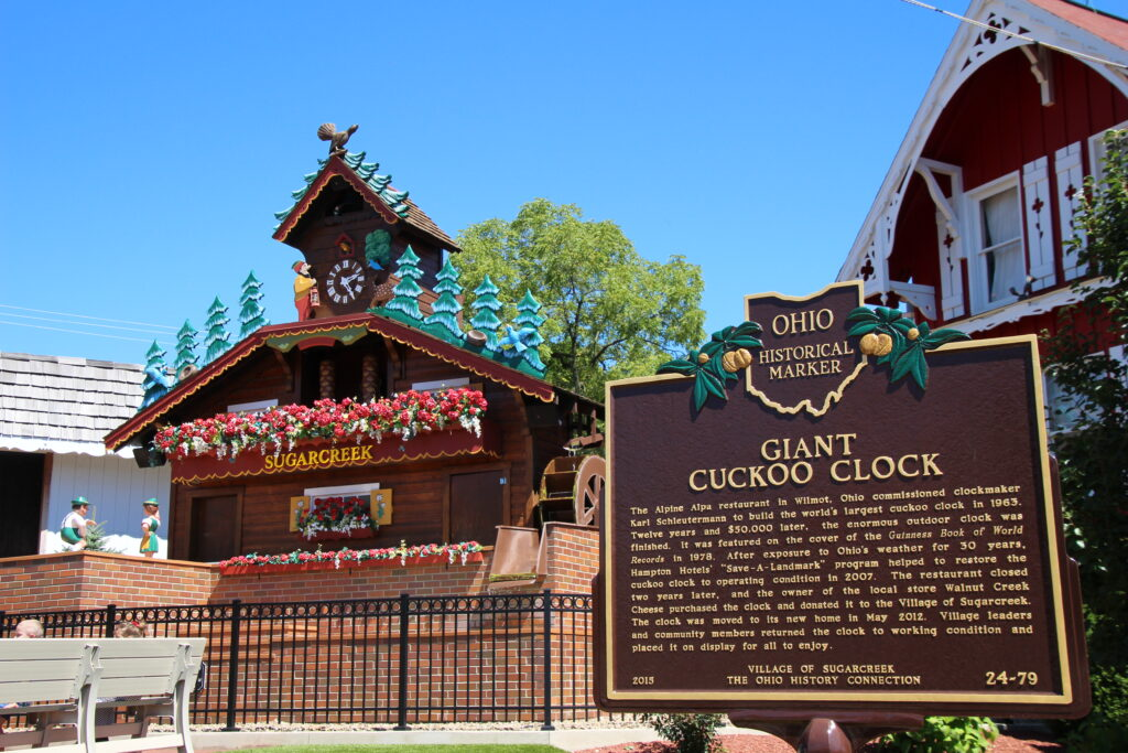 World's Largest Cuckoo Clock in Sugarcreek, Ohio
