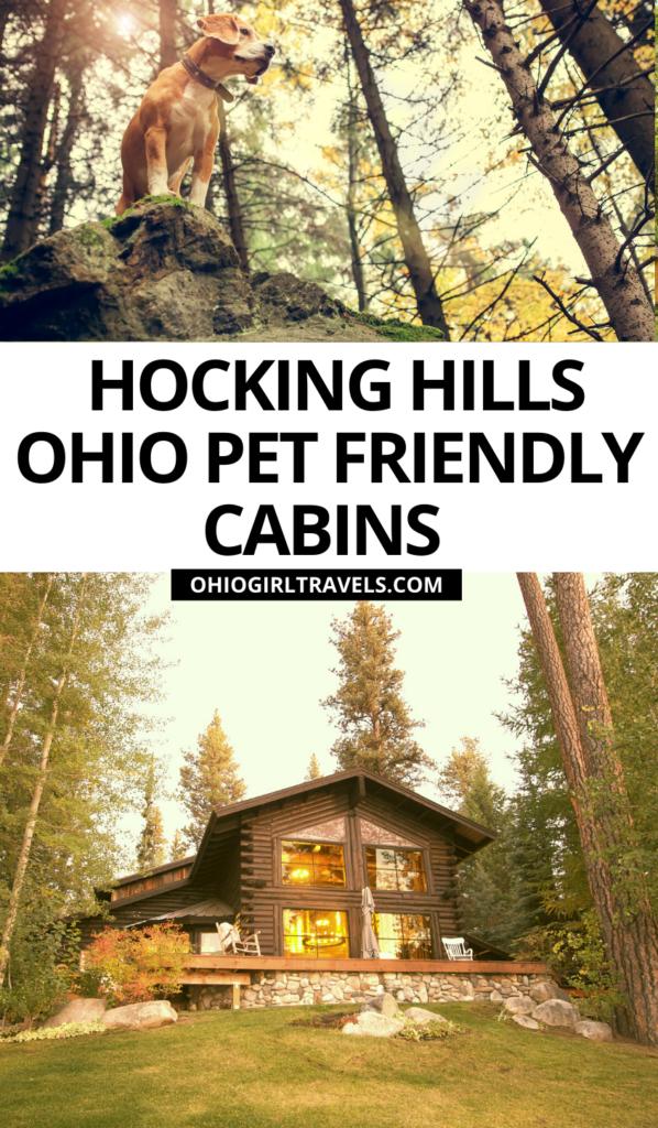 Hocking Hills Ohio Pet Friendly Cabins
